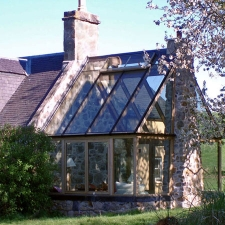 <p>Glass Extension to Highlands Croft</p>