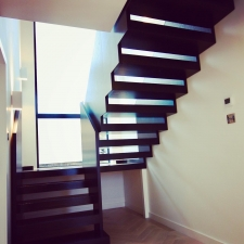 <p>Bespoke fitted staircase</p>